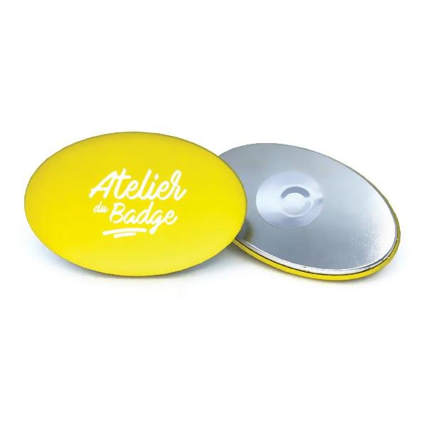 badge-ovale-magnétique